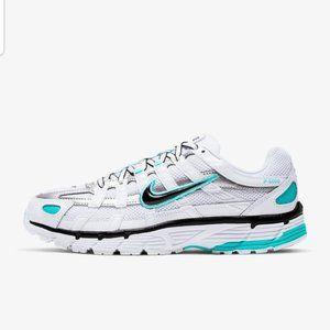 Nike P-6000 Bowerman Series White & Aqua Sneakers